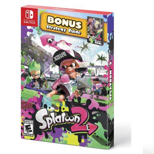 Videojuego Nintendo Switch DPR Splatoon 2 Bonus Strategy Guide Videojuegos