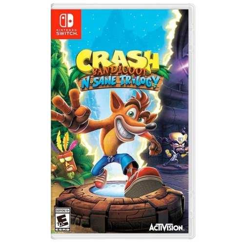 Videojuego Nintendo Switch DPR Crash Bandicoot N Sane Trilogy Videojuegos