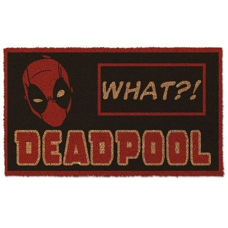 Tapete Felpudo Deadpool What? Bioworld Deadpool Marvel