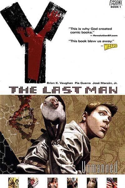 Revistilla Vertigo The Last Man # 1 Iconos ENG
