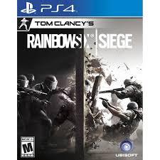 Videojuego Playstation 4 DPR ubisoft Tom Clancy´s Rainbow Six Siege Videojuegos