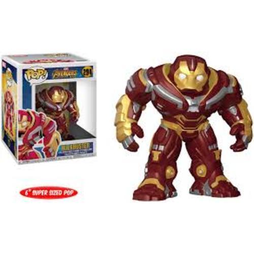 "Figura Hulkbuster Funko POP Avengers Infinity War Marvel 6"""