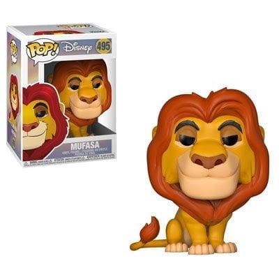 Figura Mufasa Funko POP El Rey León Disney