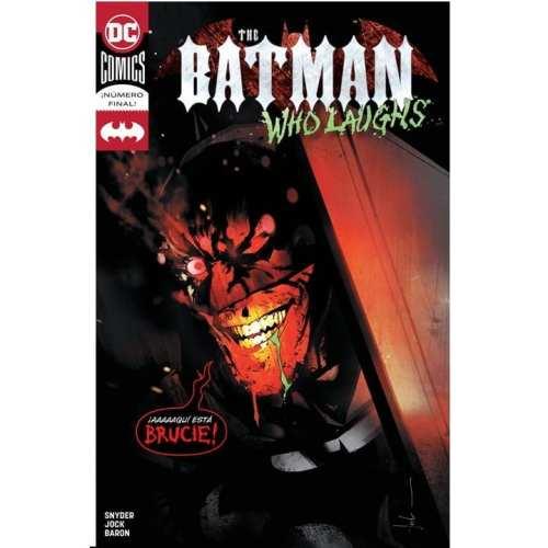 Revistilla Batman DC Comics Dark Knight Metal DC Comics Batman Who Laughs #7