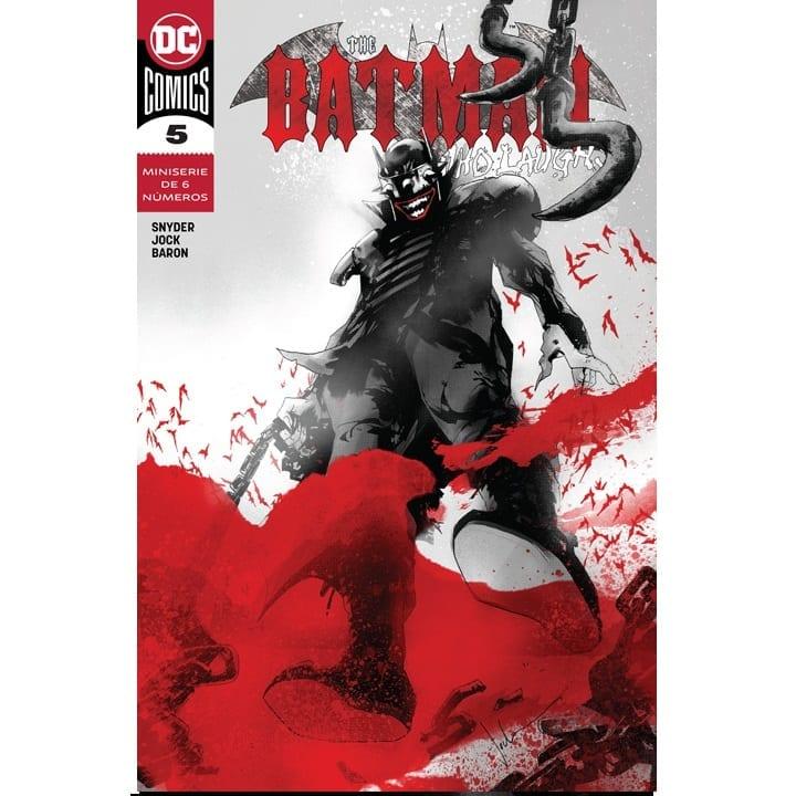 Revistilla Batman DC Comics Dark Knight Metal DC Comics Batman Who Laughs #5