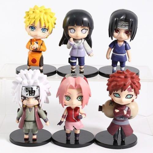 Figura Personajes Varios PT Naruto Anime Tipo Nendoroid Varias (preguntar por Disponiblidad)