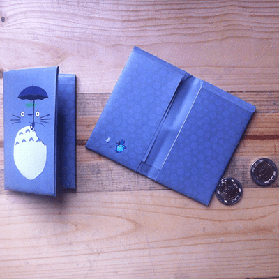 Portadocumentos Totoro Posim Studio Ghibli Anime
