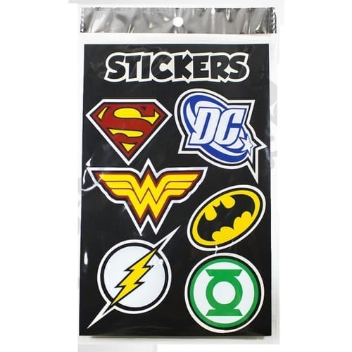 Stiker Pictograma Hamma DC Comics DC Logos
