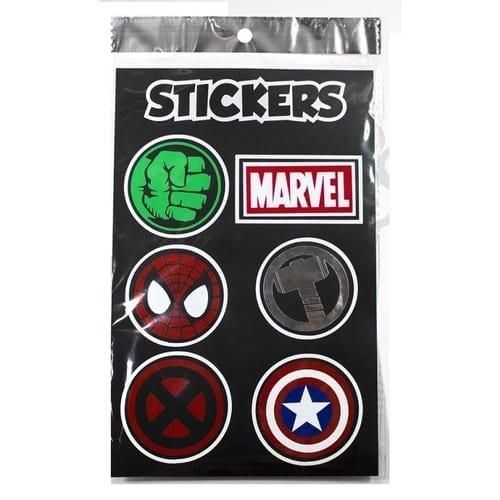 Sticker Marvel Logos Pictograma Hamma Marvel