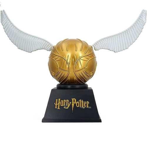 Alcancía Snitch Dorada Monogram Harry Potter Fantasia