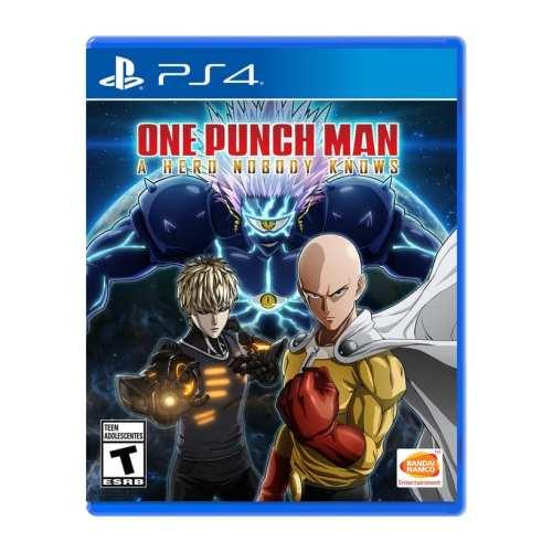 Videojuego One Punch Man a Hero Nobody Knows Bandai Namco DPR Playstation 4 Videojuegos