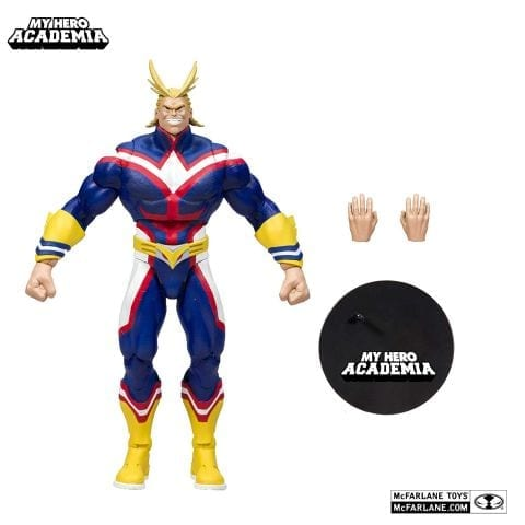 "Figura Articulada All Migth Mcfarlane Toys Boku no Hero Anime 7"""