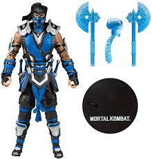 Figura Articulada Sub Zero Mcfarlane Toys Mortal Kombat 11 Videojuegos