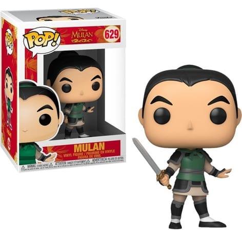 Figura Mulan Funko POP Disney Como Ping