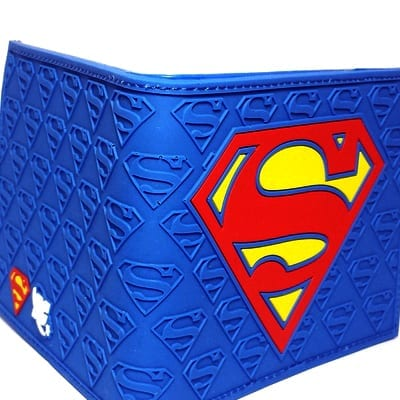 Billetera de Goma Superman Logo Clasico PT DC Comics (Copia)