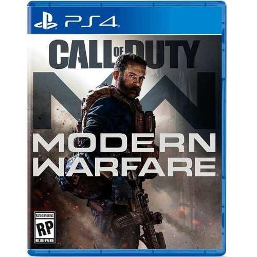 Videojuego Call of Duty Modern Warfare Activision  DPR Playstation 4 Videojuegos Incluye Figura