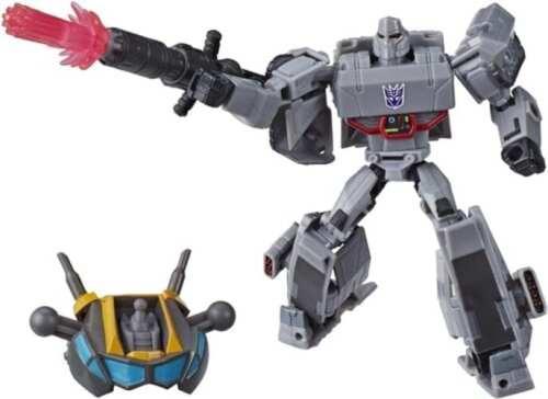 Figura Articulada Megatron Hasbro Transformers Animados Deluxe Cyberverse