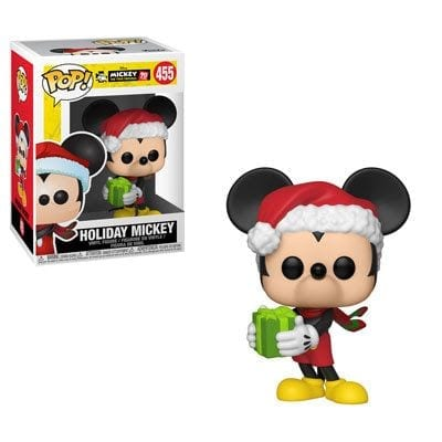 Figura Mickey Mouse Funko POP Disney Navideño