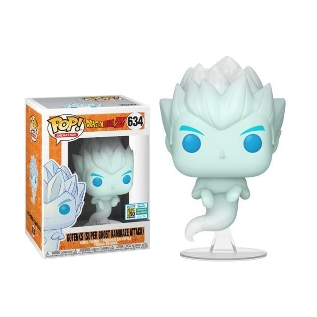 Figura Gotenks Funko POP Dragon Ball Anime Super Ghost Kamikaze Exclusivo Especial Series