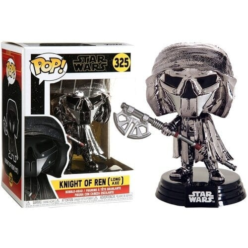 Figura Knight of Ren Funko POP Star Wars Long Axe