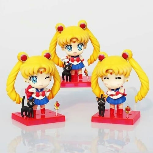 "Figura Usagi Tsukino Sailor Moon Banpresto Nendoroid Anime 4"" en Bolsa (Copia)(Unidad)"