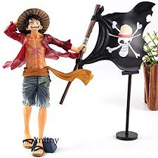"Figura Luffy Bandai One Piece Anime bandera Pirata 7"" (Copia)"