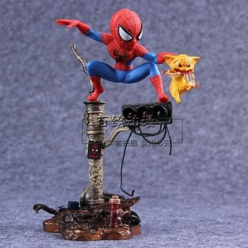 Estatuilla Spider Man Legend Creation Spider Man Marvel