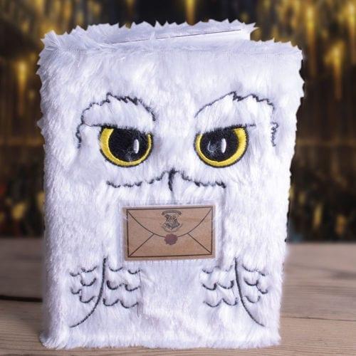 Agenda Hedwig con Carta de Aceptacion PT Harry Potter Fantasía