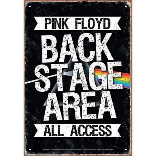 Señal Metálica Pink Floyd Aquarius  Música Back Stage Area All Access