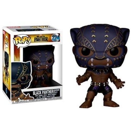 Figura Black Panther Funko POP Black Panther Marvel Warrior Falls