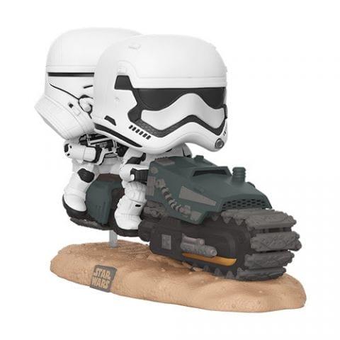 Figura First Order Tread Speeder Funko POP Movies Moment Rise of the Skywalker  Star Wars