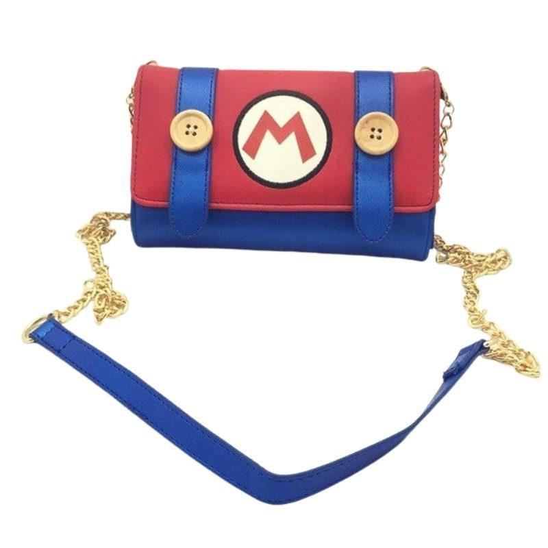 Bolso Mujer Traje Mario Bros PT Mario Bros Videojuegos Tipo Cartera