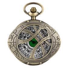Reloj Ojo de Agamotto PT Doctor Strange Marvel de Bolsillo