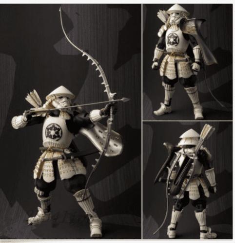 Figura Yumi Ashigaru Stormtrooper Bandai Tamashi Nations Star Wars (Copia)