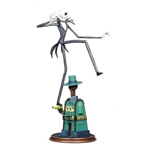 Estatuilla Jack Skellington Diamond Select Gallery El Extraño Mundo de Jack Disney en la Tierra de Oogie Boogie