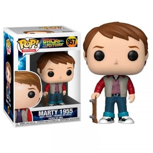 Figura Marty McFly Funko POP Back to the Future Ciencia Ficción 1955