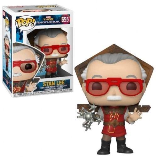 Figura Stan Lee Funko POP Thor Ragnarok Marvel