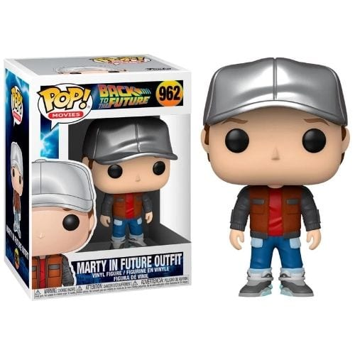 Figura Marty McFly Funko POP Back to the Future Ciencia Ficción Future Outfit