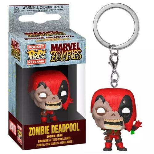 Llavero Deadpool Funko POP Marvel Zombie