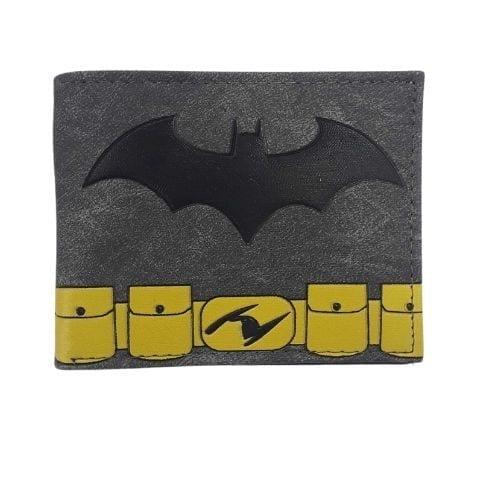 Billetera Logo de Batman y Baticinturon PT Batman DC Comics en Cuerina
