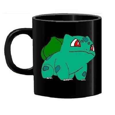 Mug Tallado Bulbasaur TooGEEK Pokémon Anime