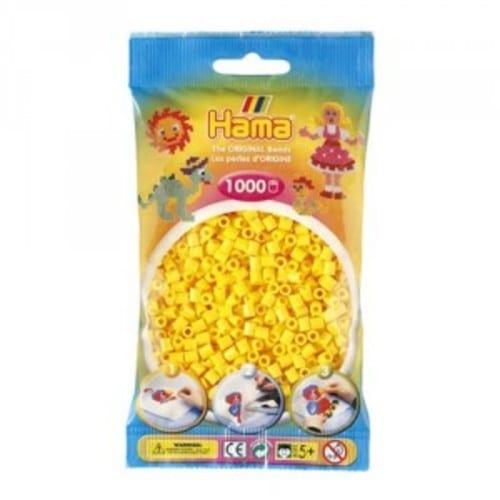 Cuencas Hamma Beads Pictograma Didácticos Tamaño Mediano Paquete 1000 Piezas Color Amarillo