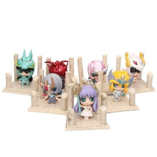 Colección Caballeros de Bronce Petit Caballeros del Zodiaco Anime Mini 2''