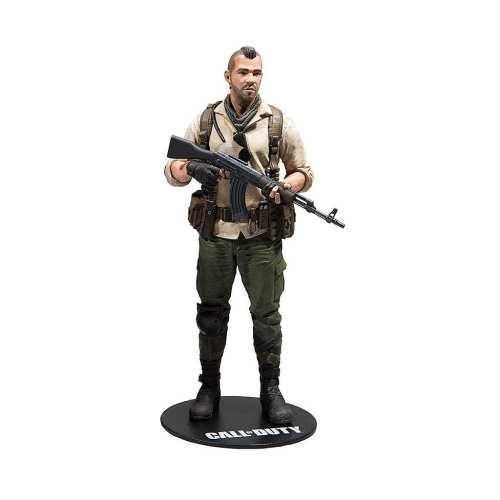 Figura Capitan John MacTavish Mcfarlane Call of Duty Videojuegos