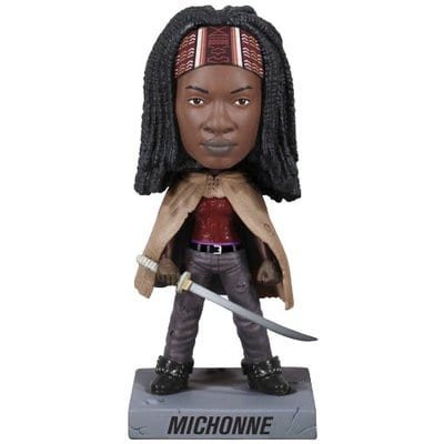 Figura Michonne Funko Wacky Woobler The Walking Dead Series