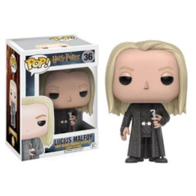 Figura Lucius Malfoy Funko POP Harry Potter Fantasía