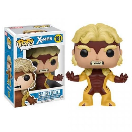 Figura Sabretooth Funko POP Marvel