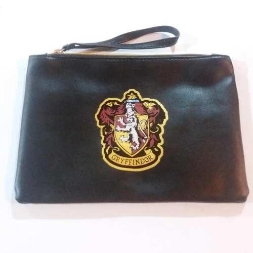 Cosmetiquera Gryffindor PT Harry Potter Fantasía Cuero Negra