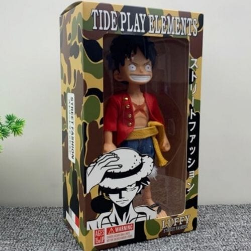 Figura Luffy PT One Piece Anime Street Fashion