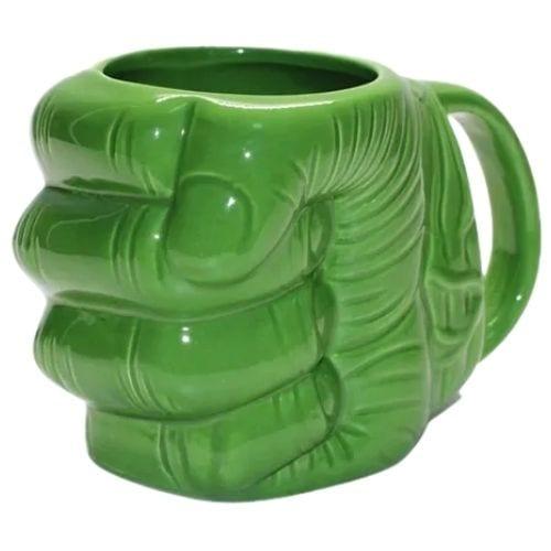 Mug Cerámico Hulk PT Marvel Puño 3D